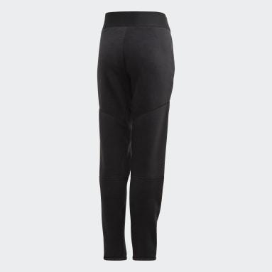 Mädchen Fitness & Training adidas Z.N.E. Warm-Up Hose Schwarz