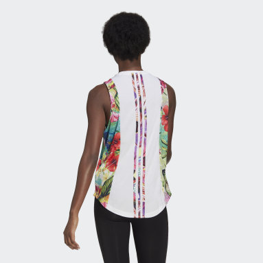 BVD Own The Run Floral Blanco Mujer Running