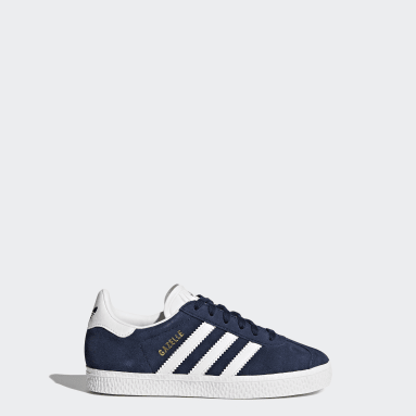 Tênis Gazelle (UNISSEX) Azul Kids Originals