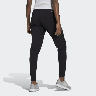 Women's Essentials Black AEROREADY Lightweight Stretchy Woven Sport Pants