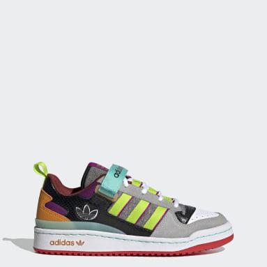 Women's Originals Pink Forum Low Shoes