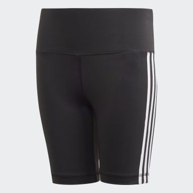 Youth Training Black Believe This 3-Stripes Short Tights