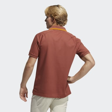 Polo Go-To Primegreen Pique Rosso Uomo Golf