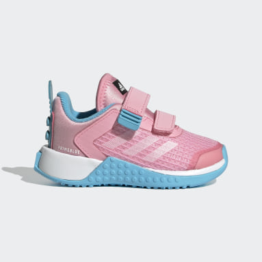 Infant & Toddler Running Pink adidas x Classic LEGO® Sport Shoes