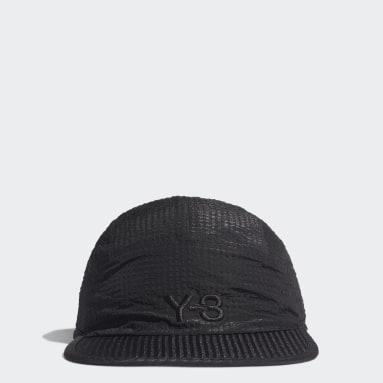 Y-3 Siyah Y-3 CH2 Ventilation Şapka