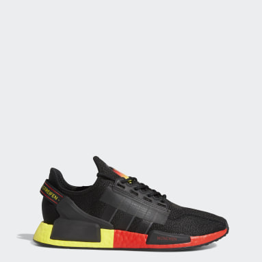 Men Originals Black NMD_R1 V2 Munich Shoes
