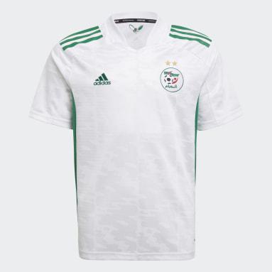 Maillot Domicile Algérie 20/21 Blanc Garçons Football