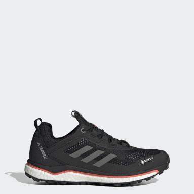 Women TERREX Black Terrex Agravic Flow GORE-TEX Trail Running Shoes