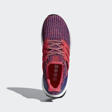 Tenis Ultraboost Rojo Mujer Running