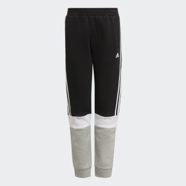 Pantaloni adidas Essentials Colorblock Nero Ragazzo Sportswear