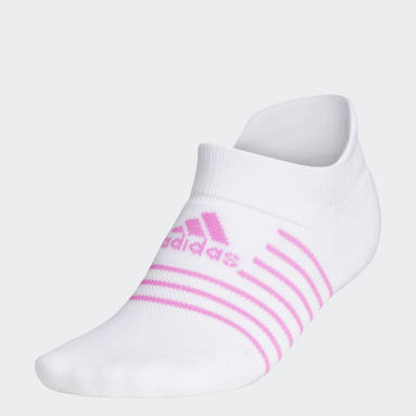 Women Golf White Performance Golf Socks