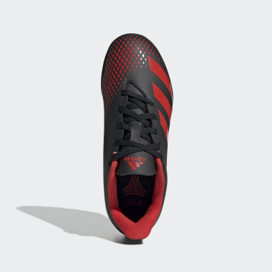 Kids 4-8 Years Football Black Predator 20.4 Turf Boots