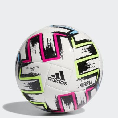 Men Football White Uniforia Club Ball