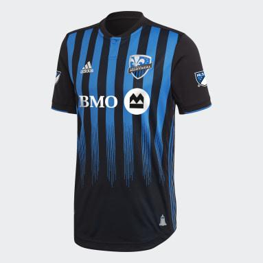 Maillot Domicile Impact de Montréal Authentique noir Hommes Soccer