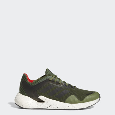Men Running Green Alphatorsion Shoes