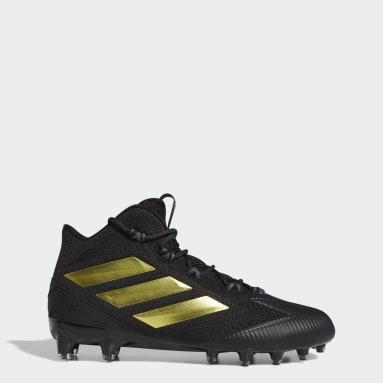 Men's Football Black Freak Carbon Mid Cleats