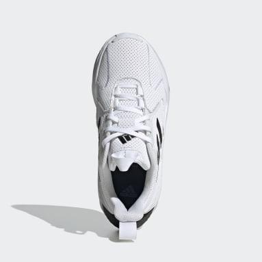 Youth 8-16 Years Running White 4uture One Running Shoes