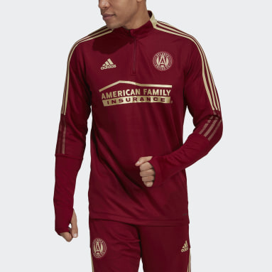 Men's Soccer Red Atlanta United FC Training Top