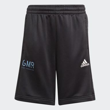 Jungen Fitness & Training Gaming Football-Inspired Shorts Schwarz