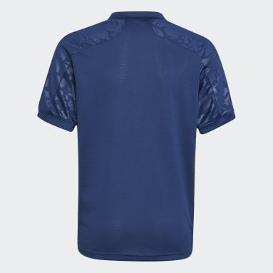 Kinderen Voetbal Blauw Olympique Lyonnais 20/21 Derde Shirt