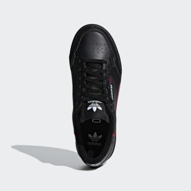Zapatillas Continental 80 Negro Niño Originals