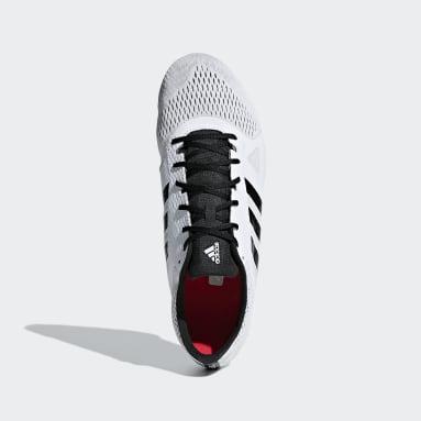 Leichtathletik Adizero Middle-Distance Spike-Schuh Weiß