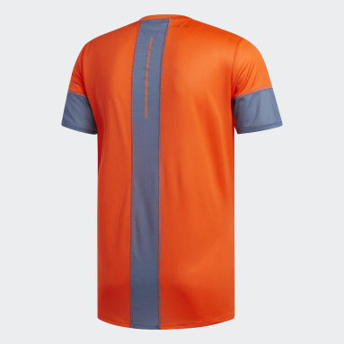 T-shirt 25/7 Rise Up N Run Parley Orange Hommes Running