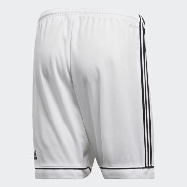Shorts Squadra 17 Blanco Hombre Fútbol