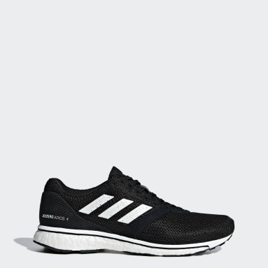 Women Running Black Adizero Adios 4 Shoes