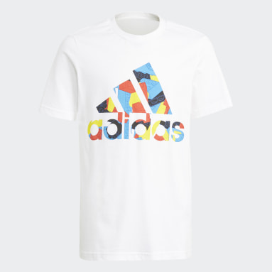 Camiseta Estampada adidas x Classic LEGO® Classic Branco Meninos Training