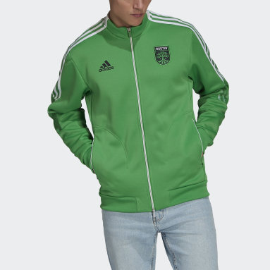 Men's Soccer Green Austin FC Anthem Jacket