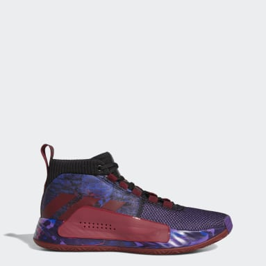 Men's Basketball Black Dame 5 Shoes