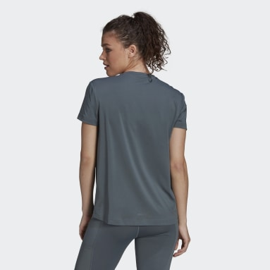 Women's Training Blue Zoe Saldana AEROREADY Tee