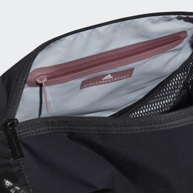 Women adidas by Stella McCartney Black Round Duffel Bag