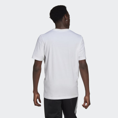 Men Originals White SPRT Graphic Tee