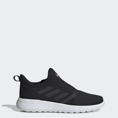 Women Sport Inspired Black Lite Racer Slip-On Shoes