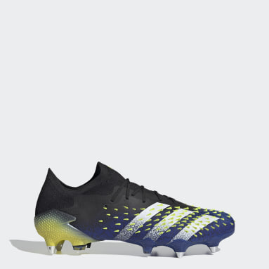 Football Black Predator Freak.1 Soft Ground Boots