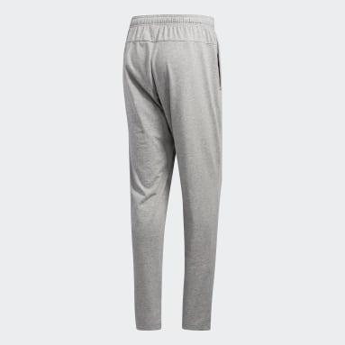 Pantalón Cónico Essentials Plain Plomo Hombre Training