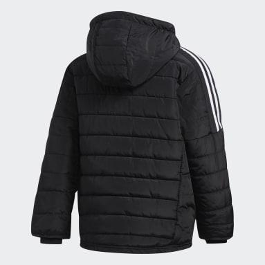 Boys Hiking Black Puffer Jacket