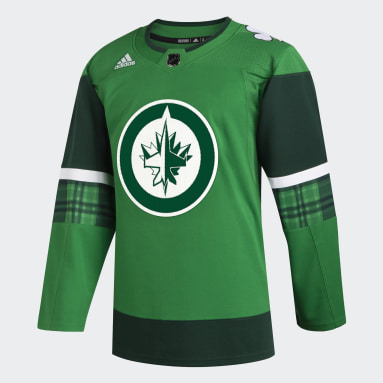 Men Hockey Multi Jets St. Patrick's Day Authentic Pro Jersey