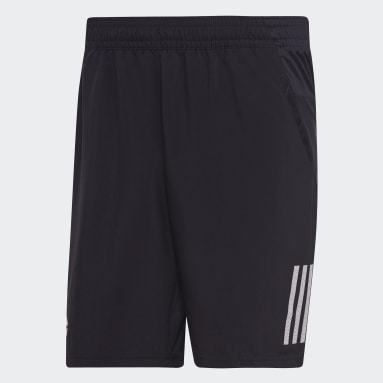 Shorts Club 3-Stripes 9-Inch Negro Hombre Tennis