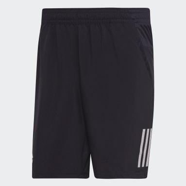 Shorts Club 3 Tiras 9-Inch Negro Hombre Tenis
