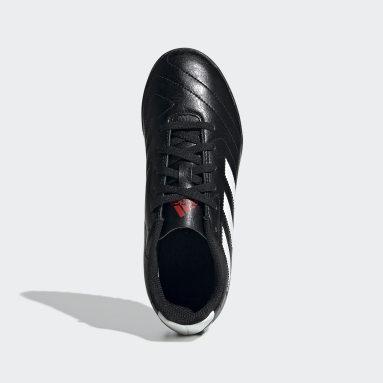Guayos Goletto VII Pasto Sintético Negro Niño Fútbol