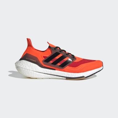 Sapatos Ultraboost 21 Laranja Running
