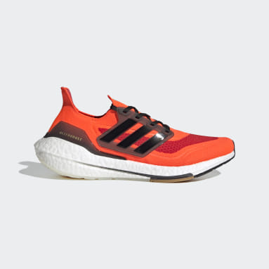 Running Orange Ultraboost 21 Shoes