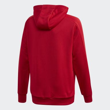 Veste de survêtement Condivo 20 Hooded Rouge Enfants Football