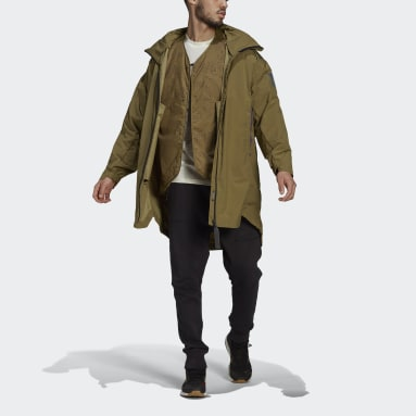 Parka MYSHELTER 4IN1 Vert Hommes City Outdoor