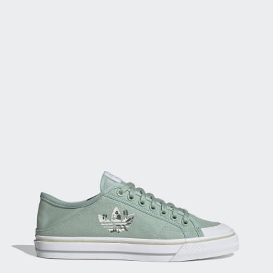 Men Originals Green Collapsible Nizza Lo Shoes