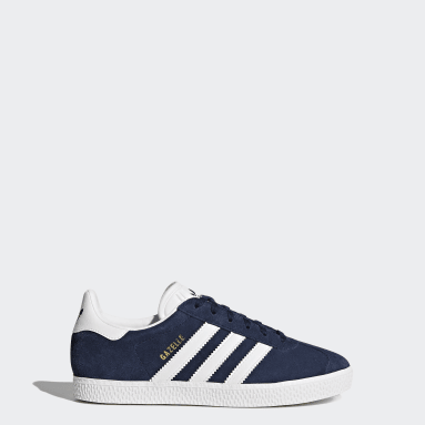 Chaussure Gazelle Bleu Adolescents Originals