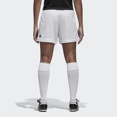 Women Soccer White Squadra 17 Shorts